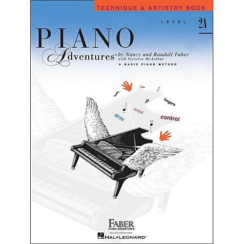 Faber Piano Adventures Piano Adventures Technique & Artistry Book Level 2A