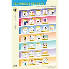 Faber Piano Adventures Piano Adventures Technique Secrets Poster - Faber Piano Adventures