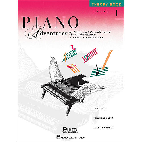 Faber Piano Adventures Piano Adventures Theory Book Level 1