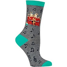 K. Bell Piano Cats Women's Socks