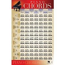 Hal Leonard Piano Chords Wall Poster - 22 inch x 34 inch