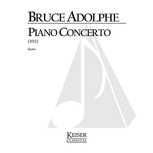 Lauren Keiser Music Publishing Piano Concerto LKM Music Series by Bruce Adolphe