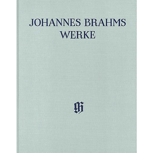 G. Henle Verlag Piano Concerto No 2 in B-flat Maj Op 83 Piano Reduction Henle Complete Hardcover by Brahms Edited by Behr
