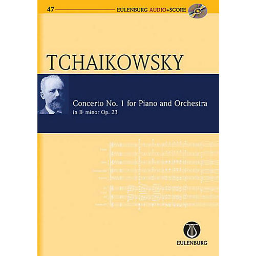 Eulenburg Piano Concerto No. 1 in Bb Minor Op. 23 CW 53 Eulenberg Audio plus Score by Tchaikovsky