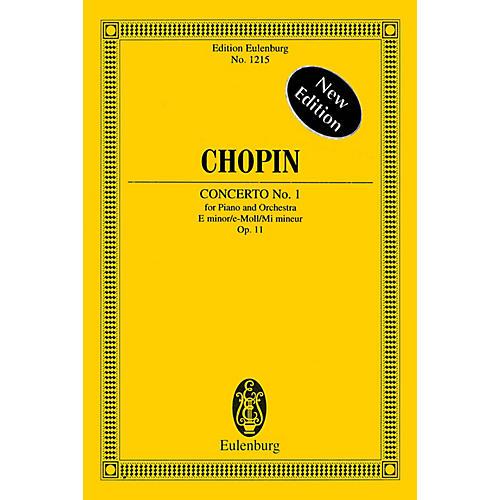 Eulenburg Piano Concerto No. 1 In E Minor, Op. 11 Schott