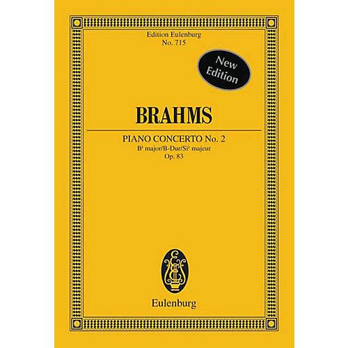 Eulenburg Piano Concerto No. 2, Op. 83 in B Major (Study Score) Schott Series