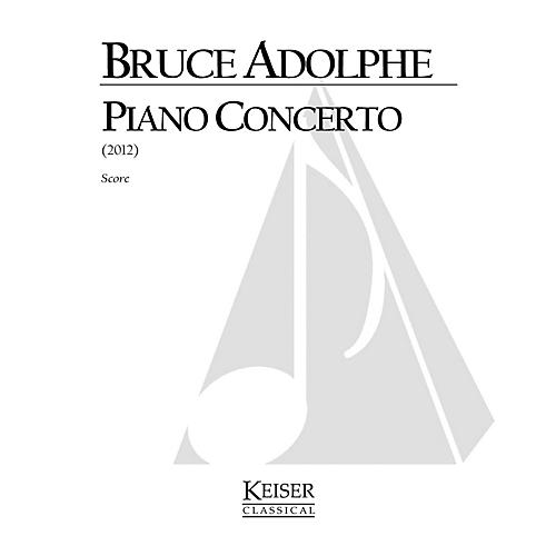 Lauren Keiser Music Publishing Piano Concerto (Set of 2 Reduced Performance Scores) LKM Music Series by Bruce Adolphe