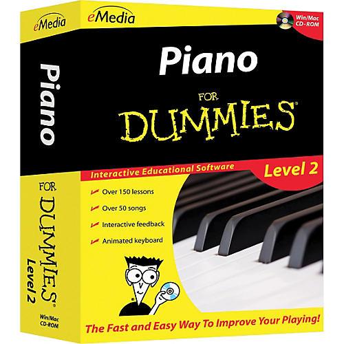 Emedia Piano For Dummies Level 2 - CD-ROM
