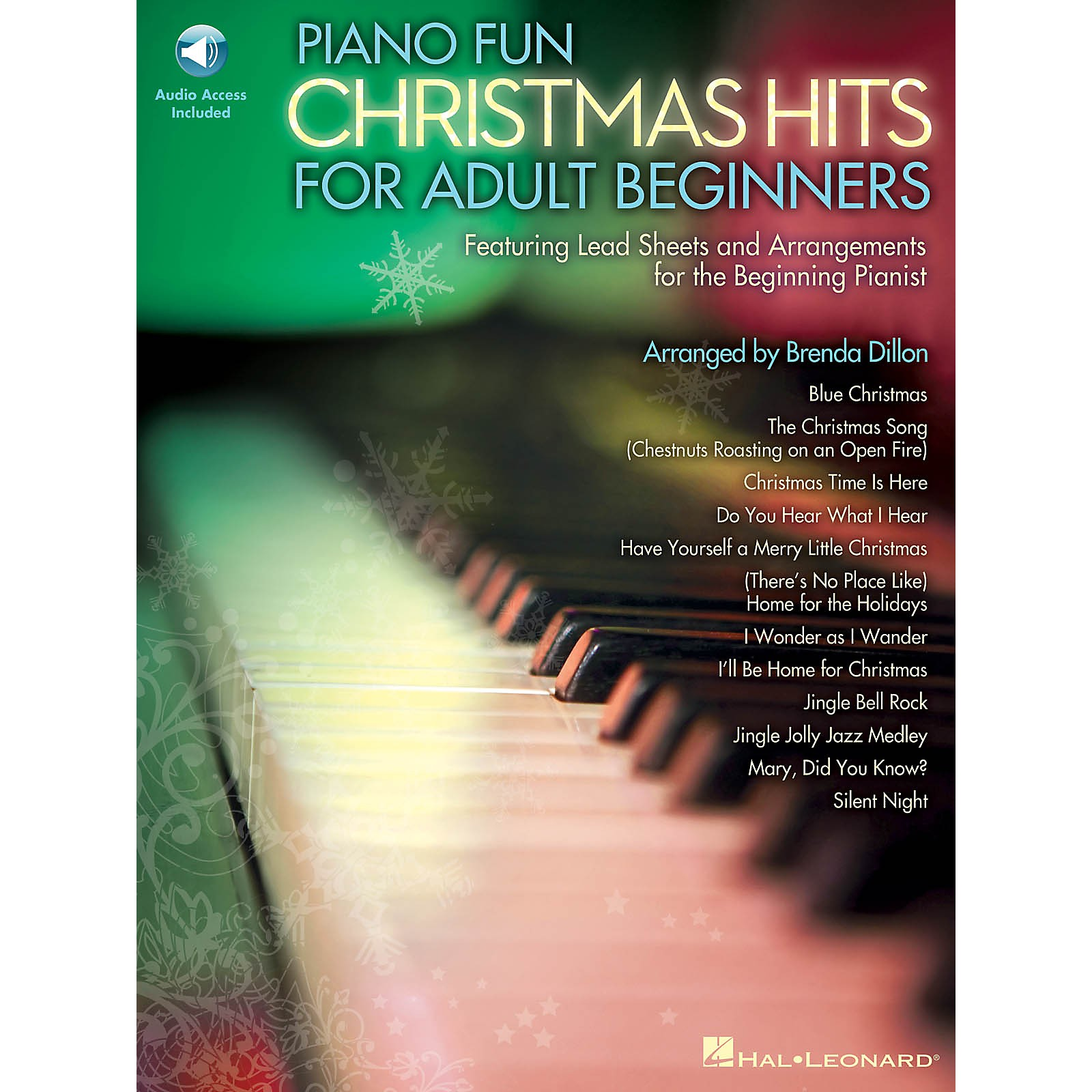 Hal Leonard Piano Fun - Christmas Hits for Adult Beginners Educational Piano Library Series Softcover Audio Online