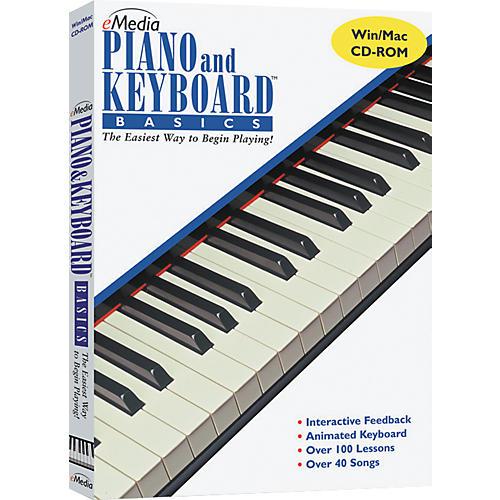 Emedia Piano & Keyboard Basics CD-ROM