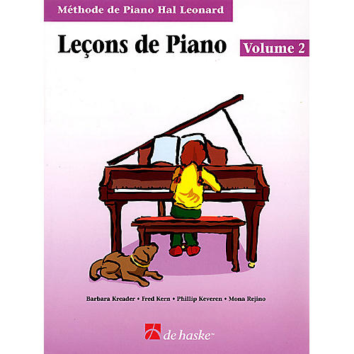 Hal Leonard Piano Lessons Book 2 - French Edition Education Piano Lib French Ed Series Composed by Phillip Keveren