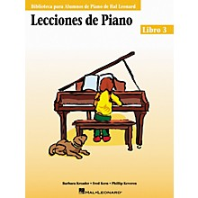 Hal Leonard Piano Lessons Book 3 - Spanish Edition Hal Leonard Student Piano Library