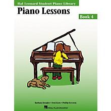 Hal Leonard Piano Lessons Book 4 Hal Leonard Student Piano Library