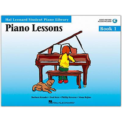 Hal Leonard Piano Lessons Book/Online Audio 1 Book/Online Audio