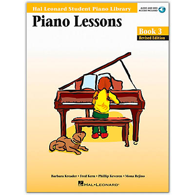 Hal Leonard Piano Lessons Book/Online Audio 3 Package Hal Leonard Student Piano Library Book/Online Audio