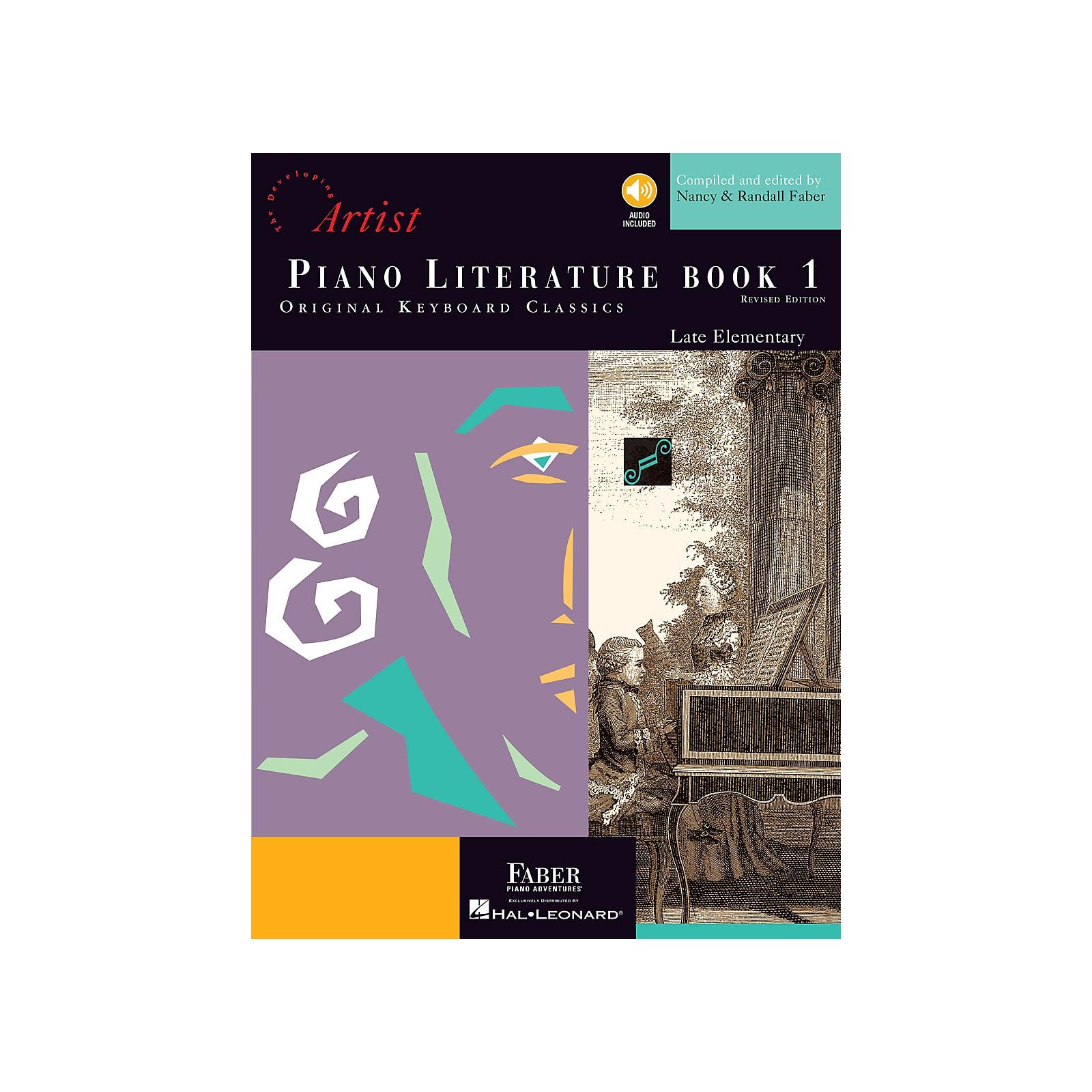 Faber Piano Adventures Piano Literature - Book 1 Developing Artist Original Keyboard Classics Book with CD
