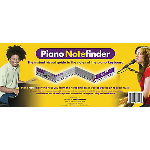 Music Sales Piano Notefinder: Visual Keyboard Guide Music Sales America Series Softcover