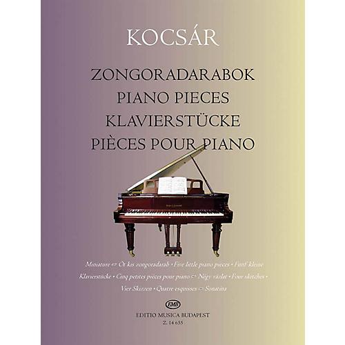 Editio Musica Budapest Piano Pieces EMB Series Softcover Composed by Miklós Kocsár