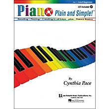 Lee Roberts Piano Plain And Simple with CD