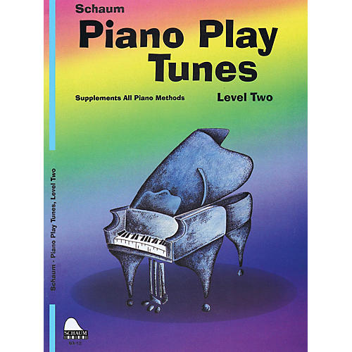 SCHAUM Piano Play Tunes, Lev 2 Educational Piano Series Softcover