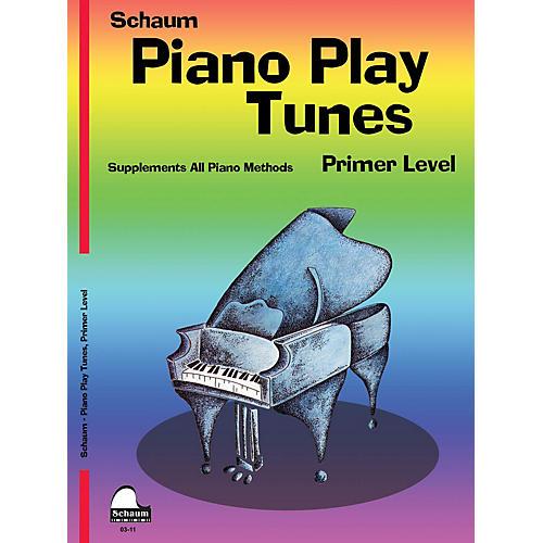 SCHAUM Piano Play Tunes, Primer Educational Piano Series Softcover
