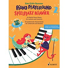 Schott Piano Playground Book 2 (Spielplatz Klavier 2) 25 Playful Piano Pieces for Lessons and Concerts by Hans-Gunter Heumann