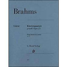 G. Henle Verlag Piano Quartet G minor Op. 25 By Brahms