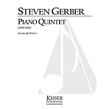 Lauren Keiser Music Publishing Piano Quintet LKM Music Series Composed by Steven Gerber