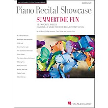 Hal Leonard Piano Recital Showcase - Summertime Fun - Elementary Level Book
