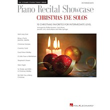 Hal Leonard Piano Recital Showcase: Christmas Eve Solos Piano Library Series Book by Various (Level Inter)