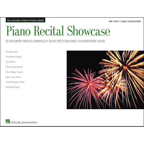 Hal Leonard Piano Recital Showcase Early Elementary Pre-Staff Level Hal Leonard Student Piano Library