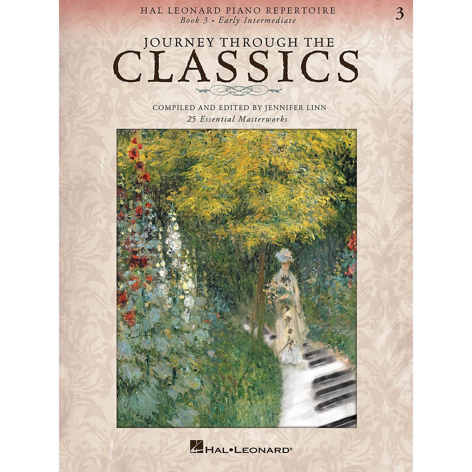 Hal Leonard Piano Repertoire Series - Journey Through The Classics Book 3 Early Intermediate