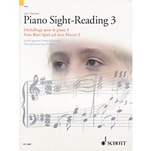 Schott Piano Sight-Reading 3 Misc Series Softcover Written by John Kember