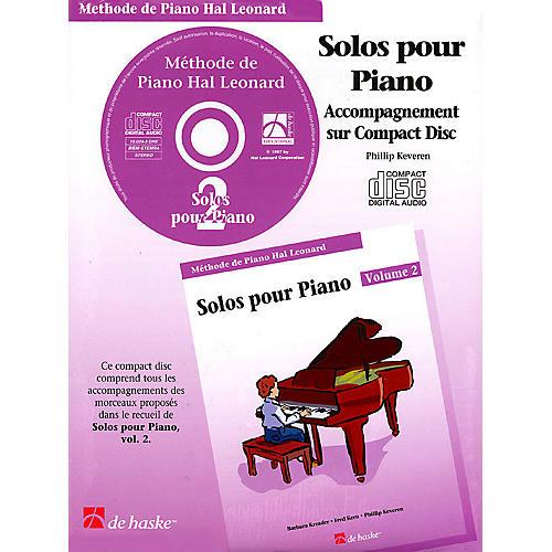 Hal Leonard Piano Solos Book 2 - CD - French Edition Education Piano Lib French Ed Series CD (Book 2)