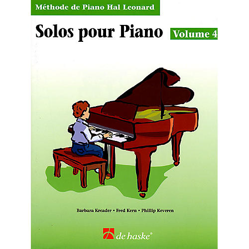 Hal Leonard Piano Solos Book 4 - French Edition Education Piano Lib French Ed Series by Various (Book 4)