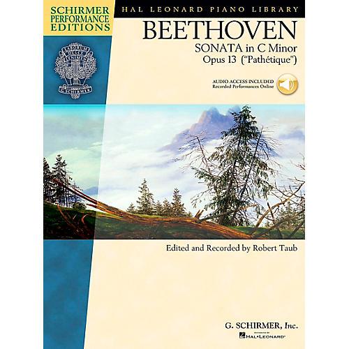 G. Schirmer Piano Sonata In C Minor Opus 13 Book/CD (Pathetique) By Beethoven / Taub