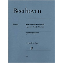 G. Henle Verlag Piano Sonata No. 17 in D Minor Op. 31 Tempest Sonata By Beethoven