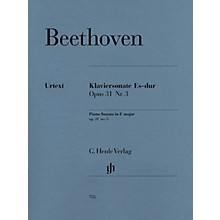 G. Henle Verlag Piano Sonata No. 18 in E Flat Major Op. 31 (La Chasse) Henle Music Folios Series Softcover
