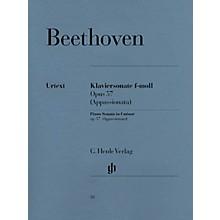G. Henle Verlag Piano Sonata No. 23 in F Minor Op. 57 (Appassionata) Henle Music Folios Series Softcover