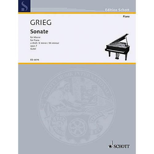 Schott Piano Sonata Op. 7 E Min Schott Series