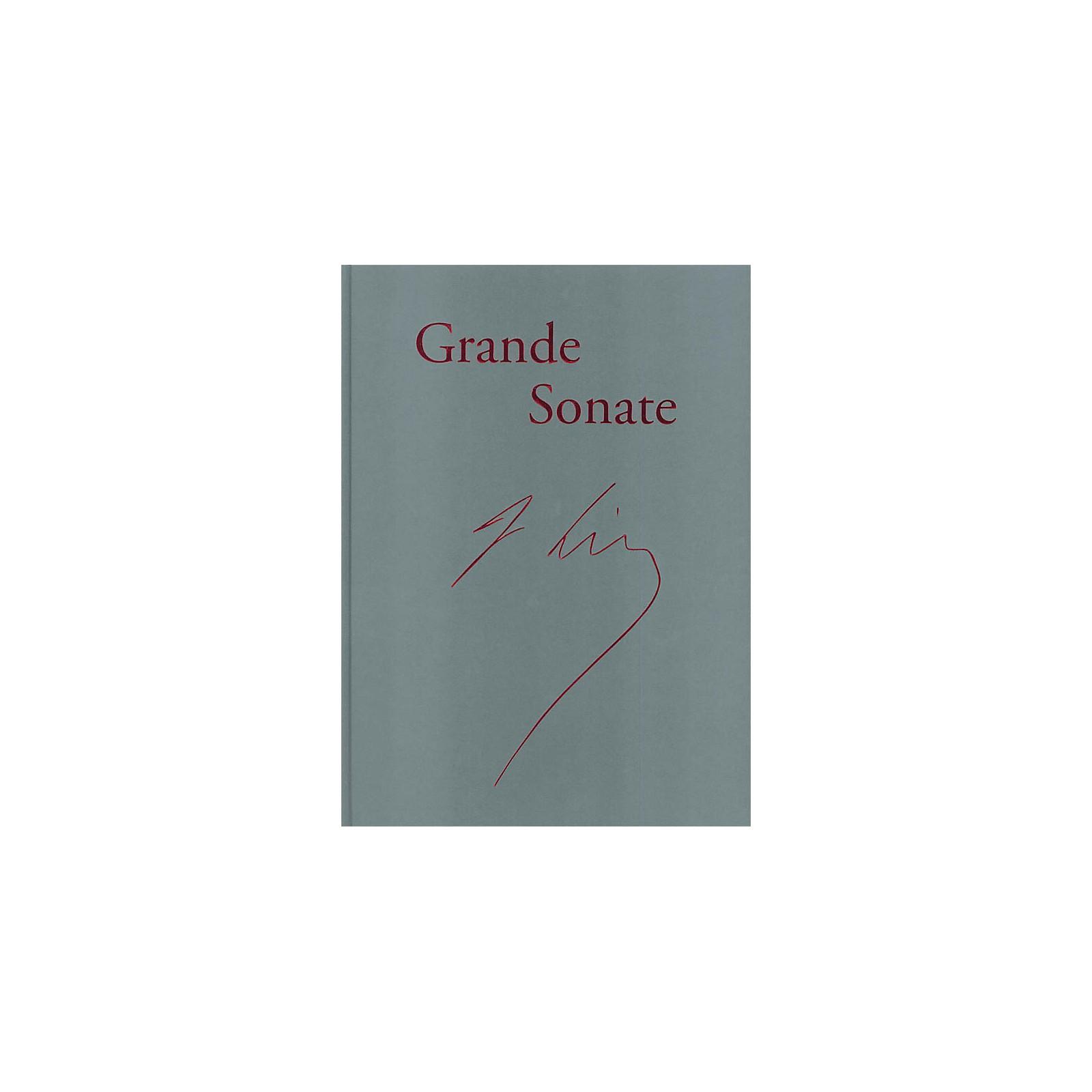 G. Henle Verlag Piano Sonata in B minor ('Grande Sonate' - Revised Edition) Henle Facsimile Series Hardcover
