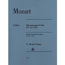 G. Henle Verlag Piano Sonata in F Major K533/494 Henle Music Folios Softcover by Mozart Edited by Ernst Herttrich