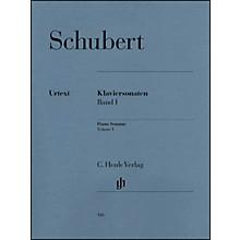 G. Henle Verlag Piano Sonatas - Volume I By Schubert