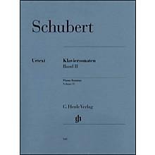 G. Henle Verlag Piano Sonatas - Volume II By Schubert