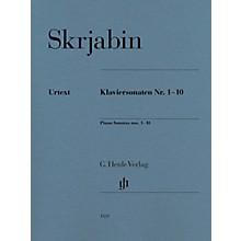 G. Henle Verlag Piano Sonatas Nos. 1-10 by Scriabin
