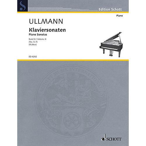 Schott Piano Sonatas Volume 2, No. 5-7 Schott Series