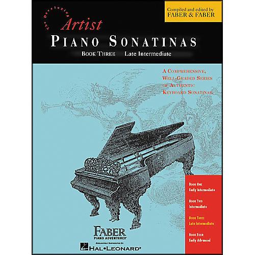 Faber Piano Adventures Piano Sonatinas Book 3 Late Intermediate - Faber Piano