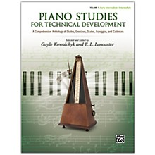 Alfred Piano Studies for Technical Development, Volume 1 Early Intermediate / Intermediate