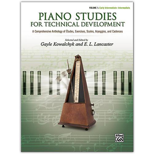 Alfred Piano Studies for Technical Development, Volume 1 Early Intermediate / Intermediate