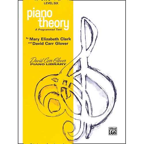 Alfred Piano Theory Level 6